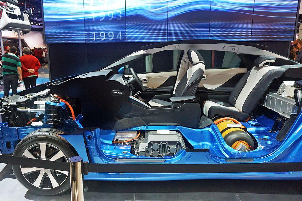 Toyota Mirai fuel cell stack and hydrogen tank SAO By Mariordo (Mario Roberto Durán Ortiz)