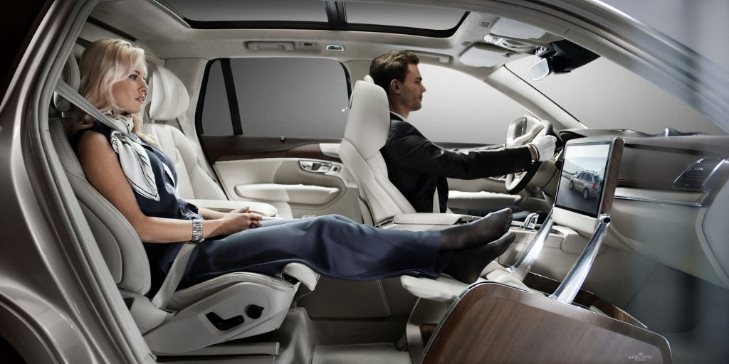 Volvo XC90 Excellence Lounge Console Entertainment