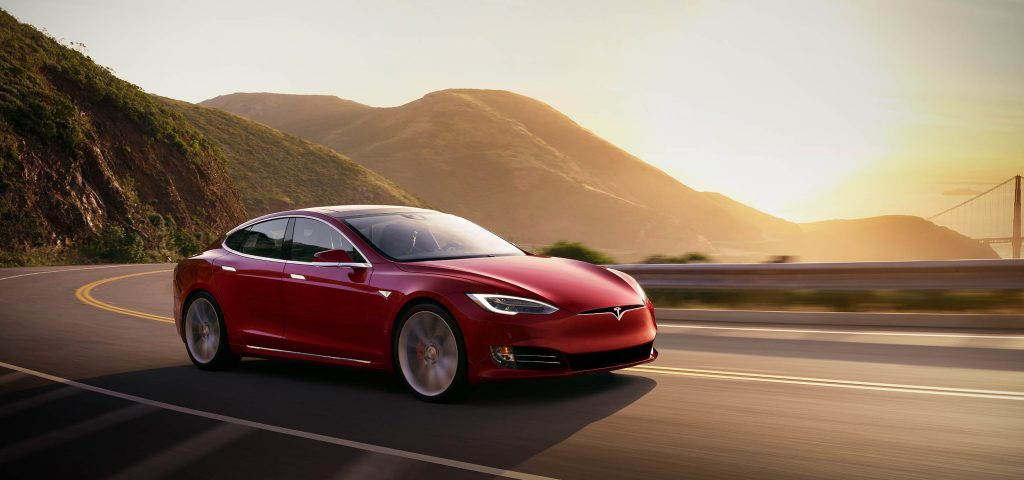 Production of Tesla Model 3s was forced to be suspended