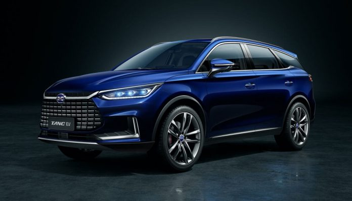 The new BYD Tang SUV 2021-model